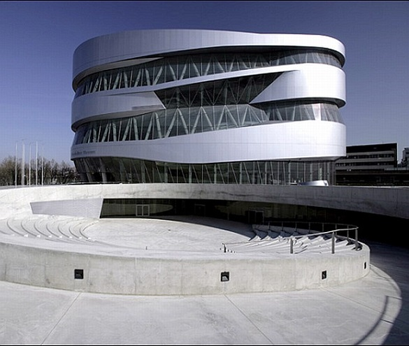 mercedes benz museum germay photo daimlerchrysler